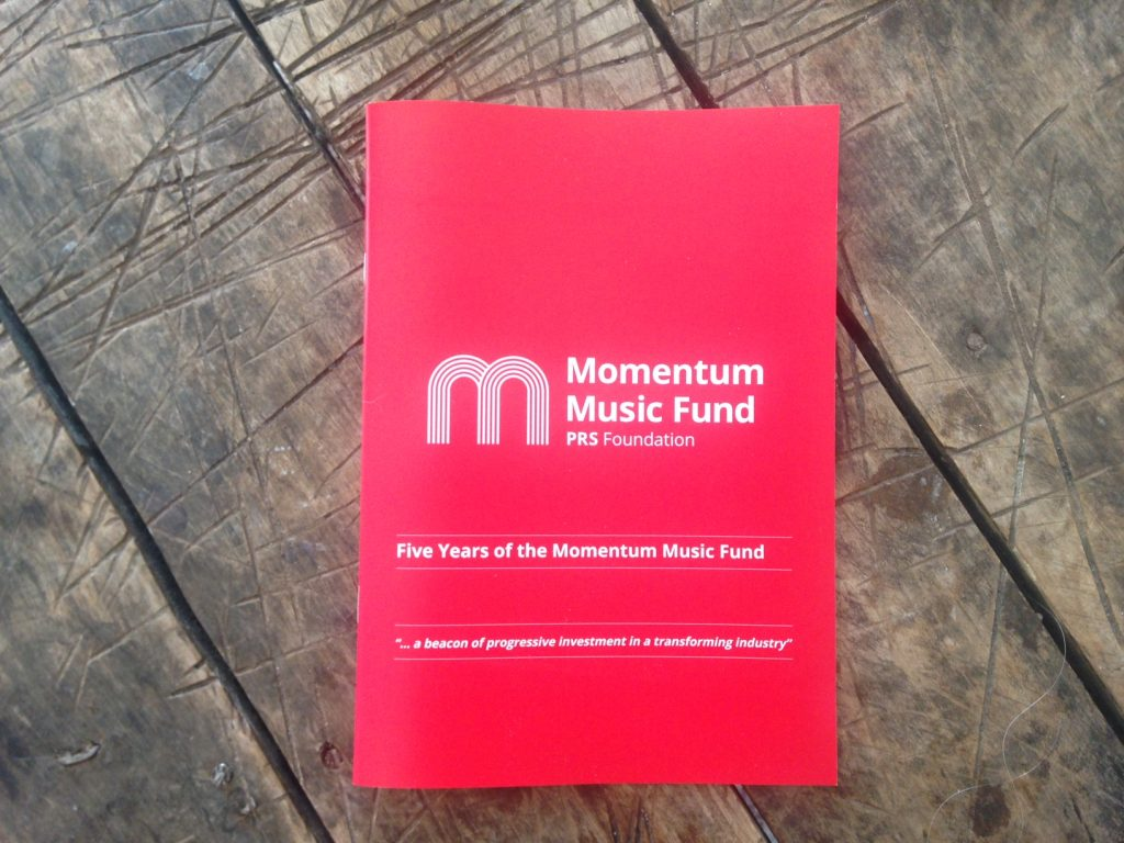 Momentum report launch: £13 million generated for the UK music industry