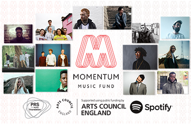 Latest artists to receive Momentum funding announced
