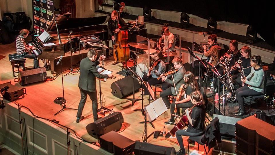 Beyond Borders: Phronesis + Engines Orchestra perform Dave Maric's Decade Zero