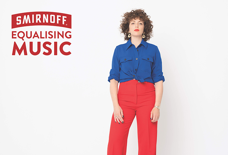 Keychange Collaborates with Annie Mac on new Smirnoff Equalising Music Pledge
