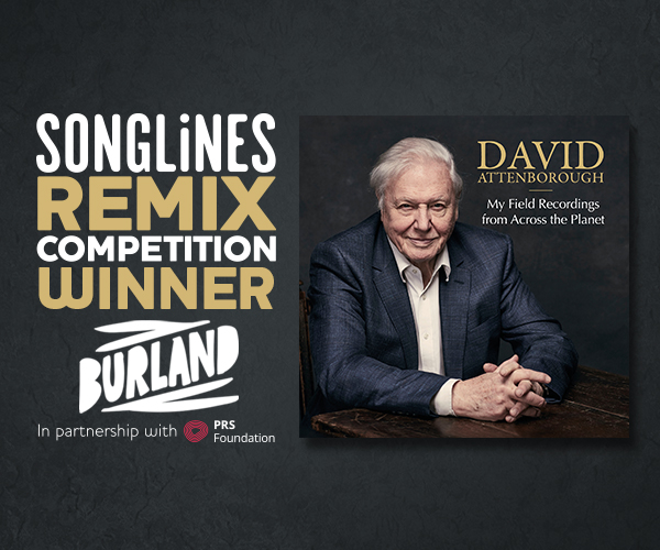 Winner of the David Attenborough Songlines Remix Competition announced