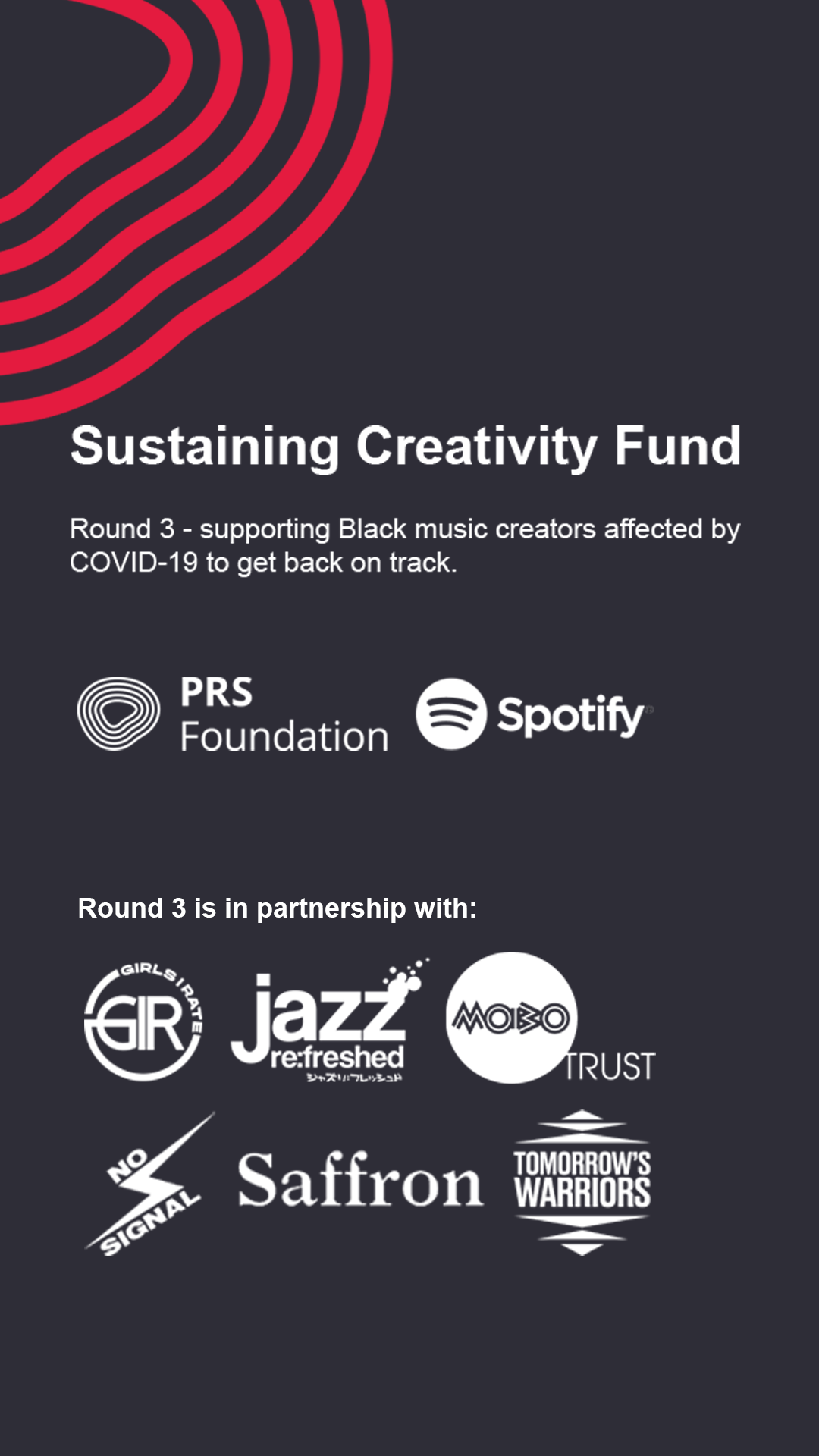 Sustaining Creativity Fund